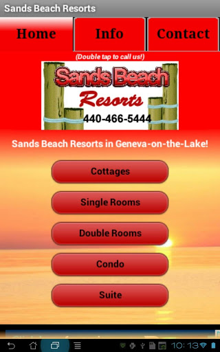Sands Beach Resorts App